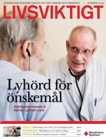 Tidningen Livsviktigt, nummer 1 2013