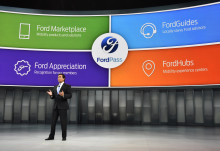 Biludstillingen i Detroit åbner med et brag af nyheder fra Ford