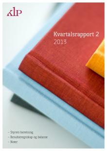 Kvartalsrapport Q2/2013