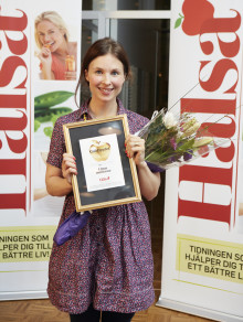 Linas Matkasse får utmärkelse av Hälsa
