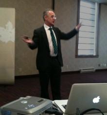 Haros familjepolitiska expert talar i Kanada om bristerna i svensk familjepolitik