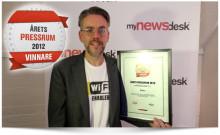 Induo vinner utmärkelsen Årets Pressrum