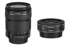 Kompakt, allsidig og kraftig – Canon lanserer EF-S 18-135mm f/3.5-5.6 IS STM og EF 40mm f/2.8 STM