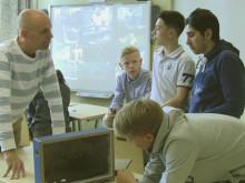Bin på cityskola lär elever om ekotjänster