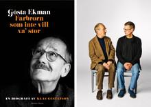 Unik och personlig biografi om Gösta Ekman släpps i september