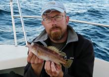 Liten nykomling i fiskvärlden -nytt rekord