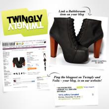 Bubbleroom lanserar Twingly eTrade