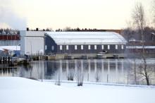 Nu tas Hissmofors nya kraftstation i drift