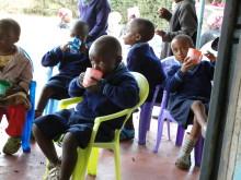 Sweden Hotels stöttar barncentrat Ngamwanza i Nairobi
