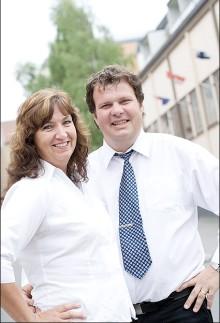 Maria och Stefan Nerpin