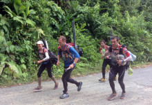 Thule Adventure Team in the lead in the Adventure Race World Championships, Costa Rica