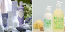Ekologiskt certifierad hudvård från två välkända franska märken.
