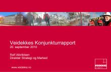 Presentasjon konjunkturrapport september 2010