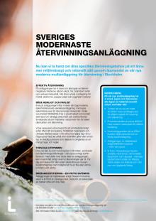 Sveriges modernaste återvinningsanläggning