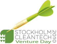 The final 25 cleantech companies screened and ready to go for Stockholm Cleantech Venture Day 2010