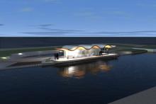 """Snart byggs """"caféet på ön"""" i Sundsvall"""