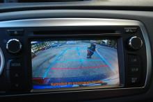 Backkamera redan standard i de flesta nya Toyota-bilarna