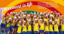 Movement in the sky - internationell gymnastikgala lyfter Helsingborgs Arena upp till himlen