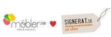 Möbler.se inleder nytt samarbete med Signerat
