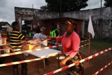 Liberia: Malaria hotar eboladrabbat land