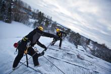 Rätt teknik räddar liv på taken