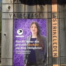 EU-parlamentariker Amelia Andersdotter besöker Gävle