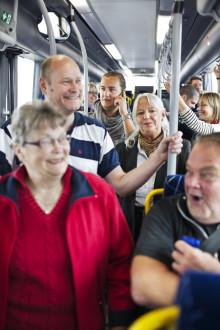 Fler nöjda kunder i regiontrafiken