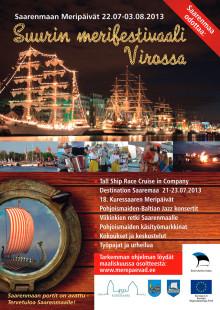 Saarenmaan meriviikko 22.7. - 3.8.2013