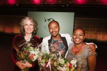 Strong feelings when PRAESA received the Astrid Lindgren Memorial Award 2015