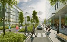 Lidl satsar på Barkarbystaden  för nytt huvudkontor