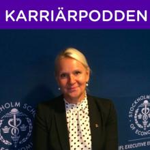 Ny gäst i Karriärpoden: Ingrid Engström, vd IFL
