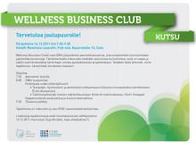 Wellness Business Club - Tervetuloa joulubrunssille 16.12!