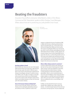 Property & Casualty Newsletter Part 2 Beating the Fraudsters