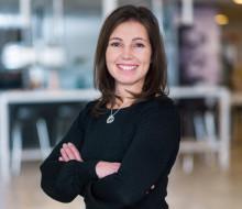 Lotta Darlin marknads- och kommunikationschef på Gymnastikförbundet