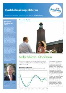 Stockholmskonjunkturen kvartal 4 2012