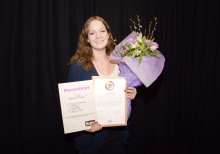 Årets Vikarie 2013 utsedd - Nadja Frykskog, 19 år, från Solna