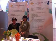 """Solhagagruppen ställer ut under konferensen """"Psykisk Hälsa Vuxna"""" i Stockholm den 27-28 mars."""