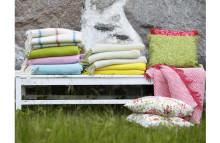 Textil och kreativ återvinning för uteplatsen