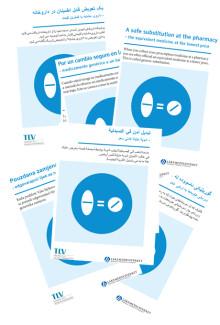 Patientfolder om generiskt utbyte nu på åtta språk
