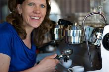 Anna Nordström tar kaffet till nya höjder