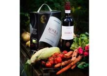 Ekologiska vinet Boira' nu på box