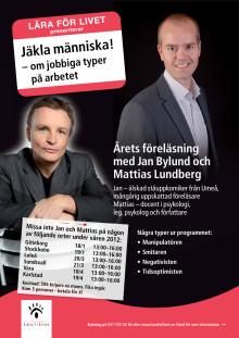 Jäkla Människa -flyer Våren 2012