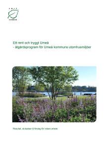 Rapport - Uppföljning Umeå ren och trygg kommun 2014-12-04