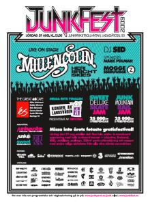 Junkyard.se´s actionfestival Junkfest 29 augusti - Väntas locka över 5 000 ungdomar till Trollhättan