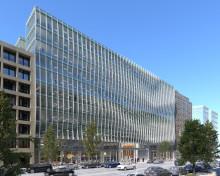Skanska investerar cirka 1,1 miljarder kronor i ny kontorsfastighet i Washington, DC, USA