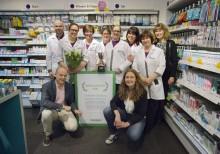Apoteket Centralen i Göteborg vinner som årets apotek