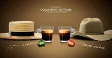 To Regioner, To Karakterer, en fortælling om Nespresso Limited Edition for foråret 2014