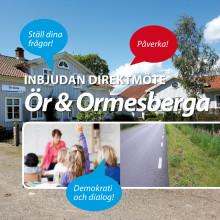 Inbjudan direktmöte Ör & Ormesberga