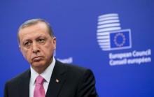 EU rullar ut röda mattan för Erdogan på valturné i Bryssel