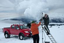 Islands vulkaner övervakas trådlöst